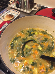 Quick and Easy Tuscan Bean Soup
