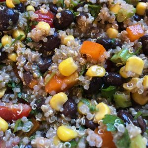 Southwest Black Bean Quinoa Salad