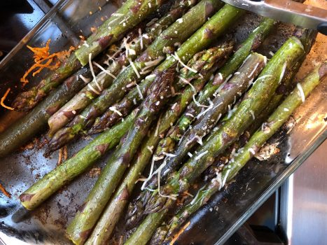 How to roast asparagus