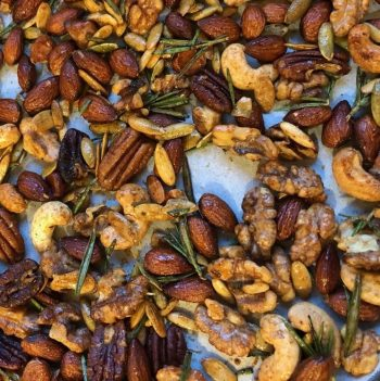 Try these Savory Roasted Rosemary Nuts Sweet Savory Spicy Lovers